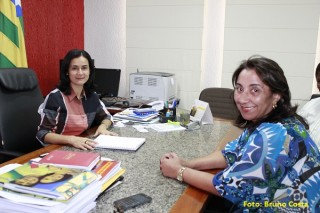 Lucimar e Sonia Chaves
