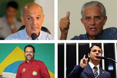 Os ex-governadores José Roberto Arruda e Joaquim Roriz podem se candidatar ou formar aliança. Agnelo Queiroz é candidato à reeleição e Reguffe também entrou na disputa para o cargo de governador. Segundo especialistas, estes são os 4 principais nomes