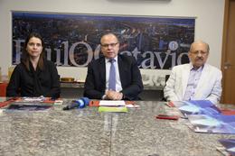 Diretores da PaulOOctávio: Gabriela Canielas, Pedro Ávila e Marcílio Bione