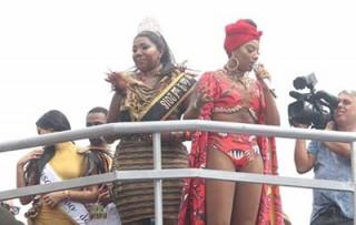 Ludmila faz sucesso no carnaval