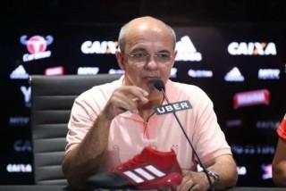 Eduardo Bandeira de Mello - presidene do Flamengo