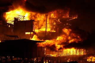 Incendio Manaus