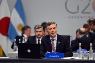 Macri defende acordo de paris