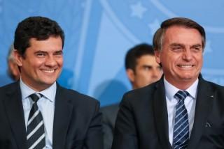 Moro e Bolsonaro - chapa para 2022